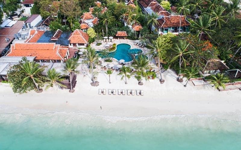מלונות מומלצים בקו סמוי למשפחות עם ילדים Chaweng Regent Beach Resort מתוך האתר הרשמי
