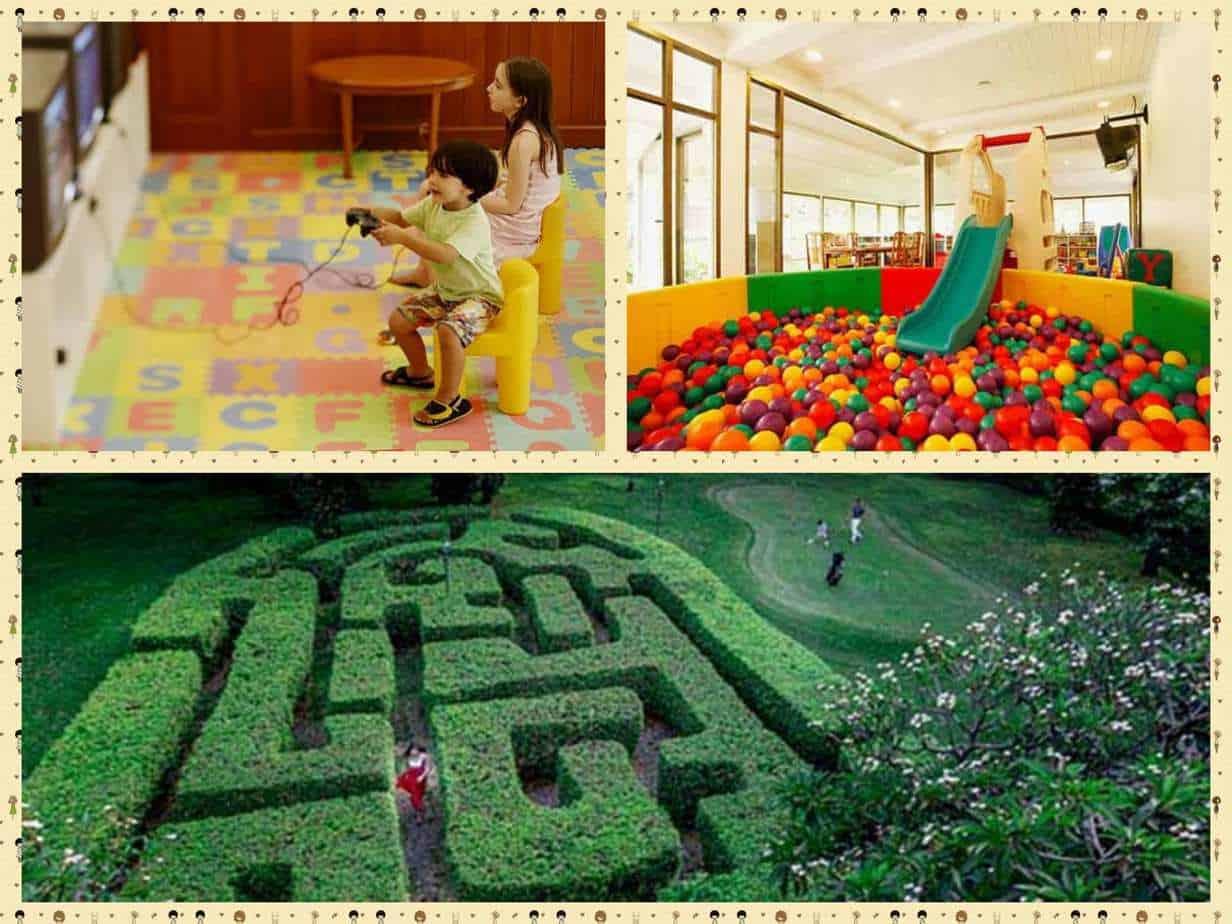 Centara Grand Beach Resort & Villas Hua Hin -פעילות הילדים במלון. תמונות מהאתר,