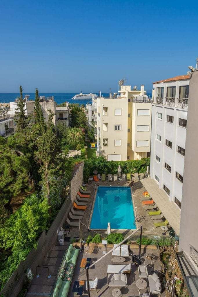מלונות מומלצים באתונה למשפחות עם ילדים - Palmyra Hotel