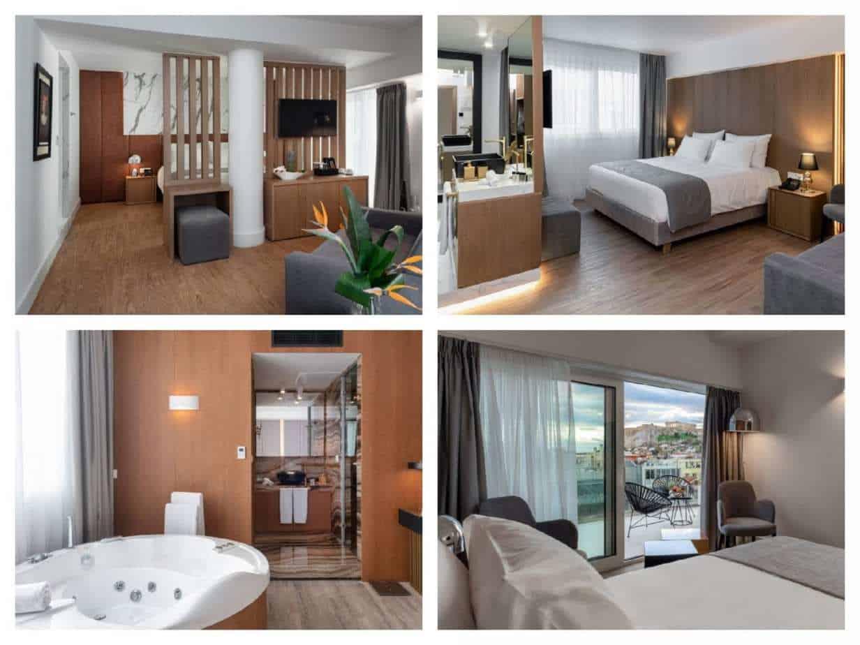 Elia Ermou Athens Hotel - תמונות חדרים מתוך האתר הרשמי