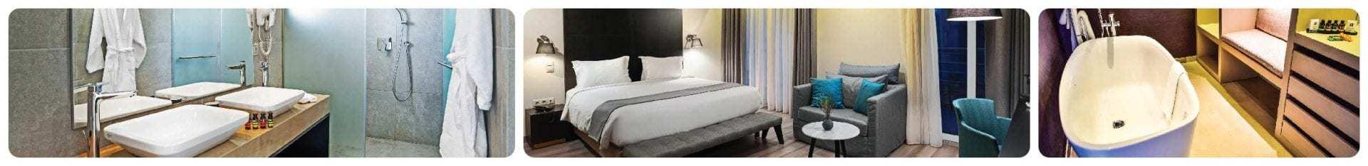 Hotel Lozenge - תמונות חדרים מתוך האתר הרשמי