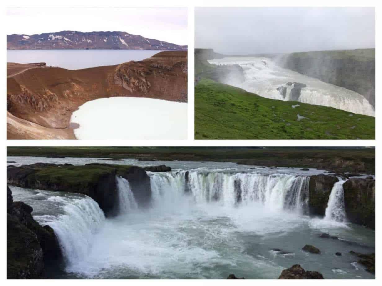 איסלנד למשפחות עם ילדים - מכתש קריד, המעגל המוזהב ומפל הזהב - גולפוס