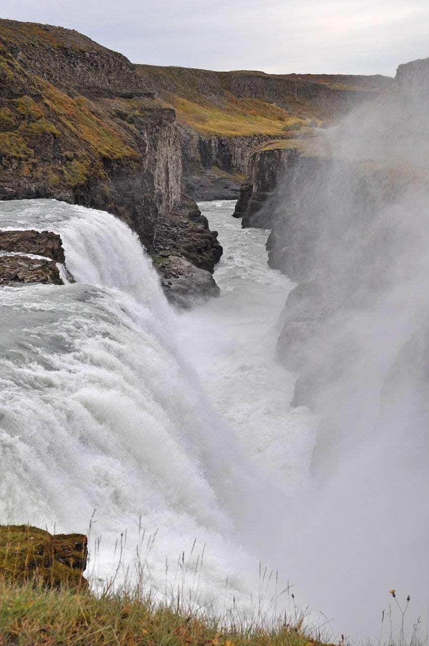 איסלנד למשפחות עם ילדים - מפל Dettifoss