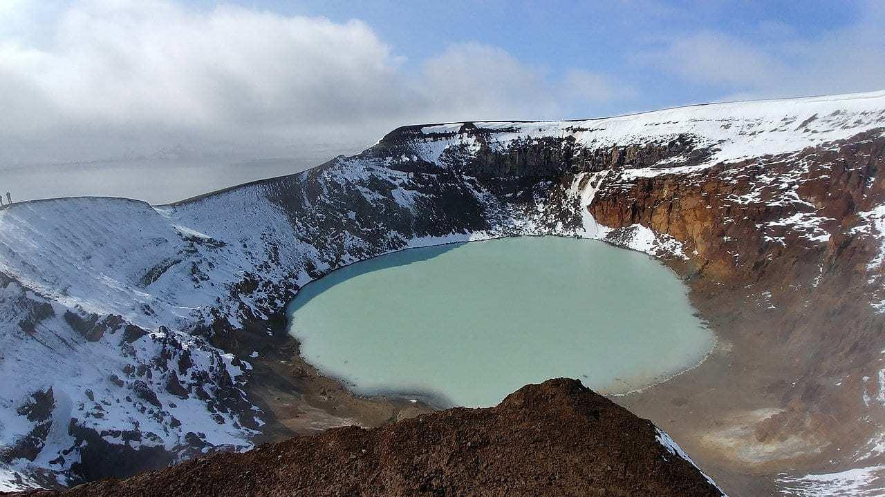 איסלנד למשפחות עם ילדים - Askja