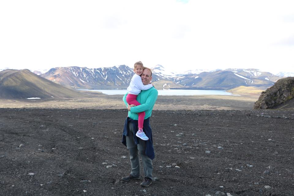 איסלנד למשפחות עם ילדים - הר הקלה Hekkla