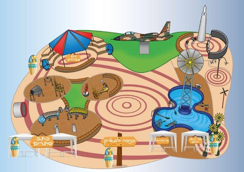 פעילות פסח בחול המועד בטכנוע חדרה - כתב סתרים וניסויים מדעיים