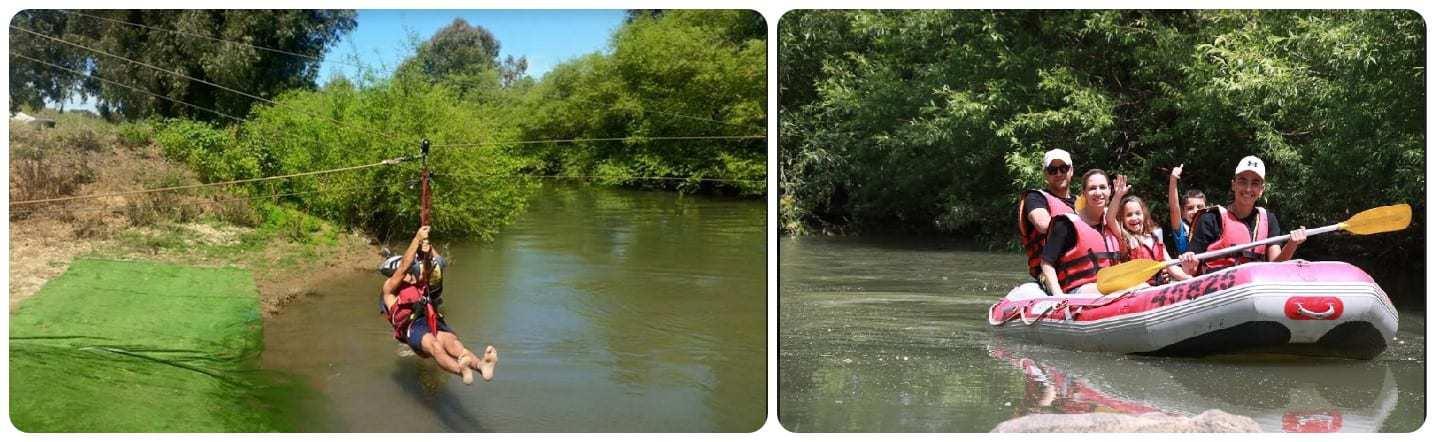 רפטינג נהר הירדן - צילום ע