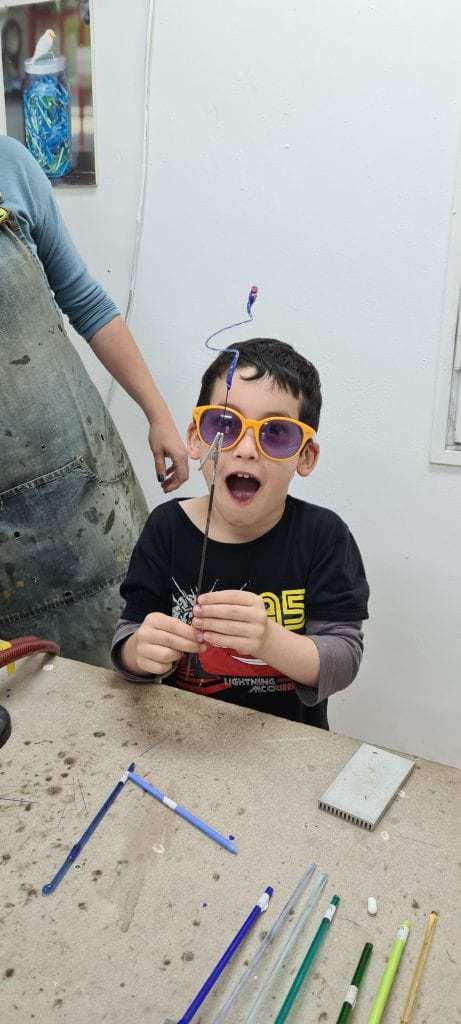 אטרקציות ברמת הגולן למשפחות עם ילדים - משחקים באש בסטודיו מנדרינה