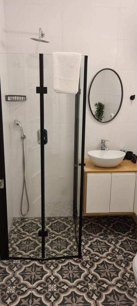 דירה בירושלים למשפחות עם ילדים - חדר האמבטיה