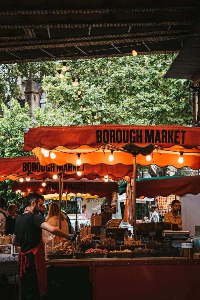 אטרקציות בלונדון למשפחות עם ילדים - שוק בורו Borough Market