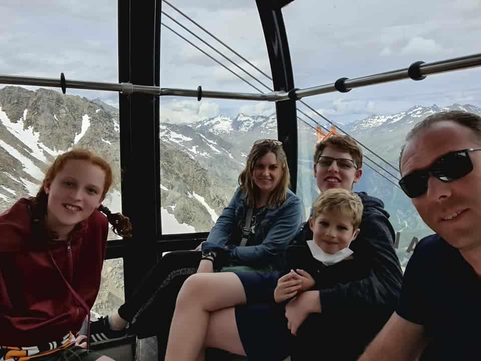 אוסטריה עם ילדים בקורונה