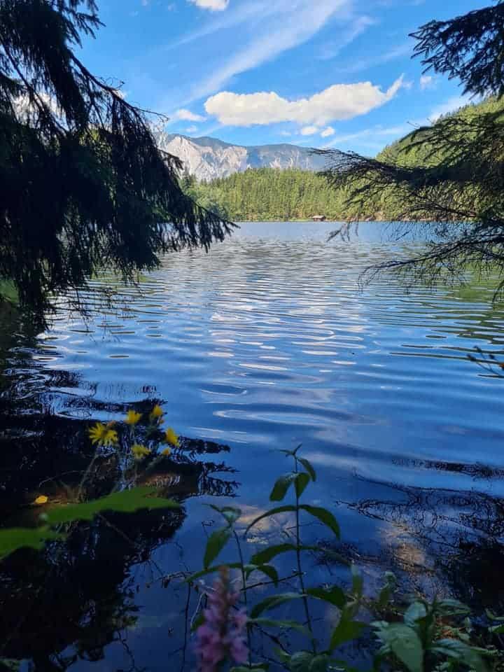 טירול עם ילדים בקורונה - אגם פיבורגר