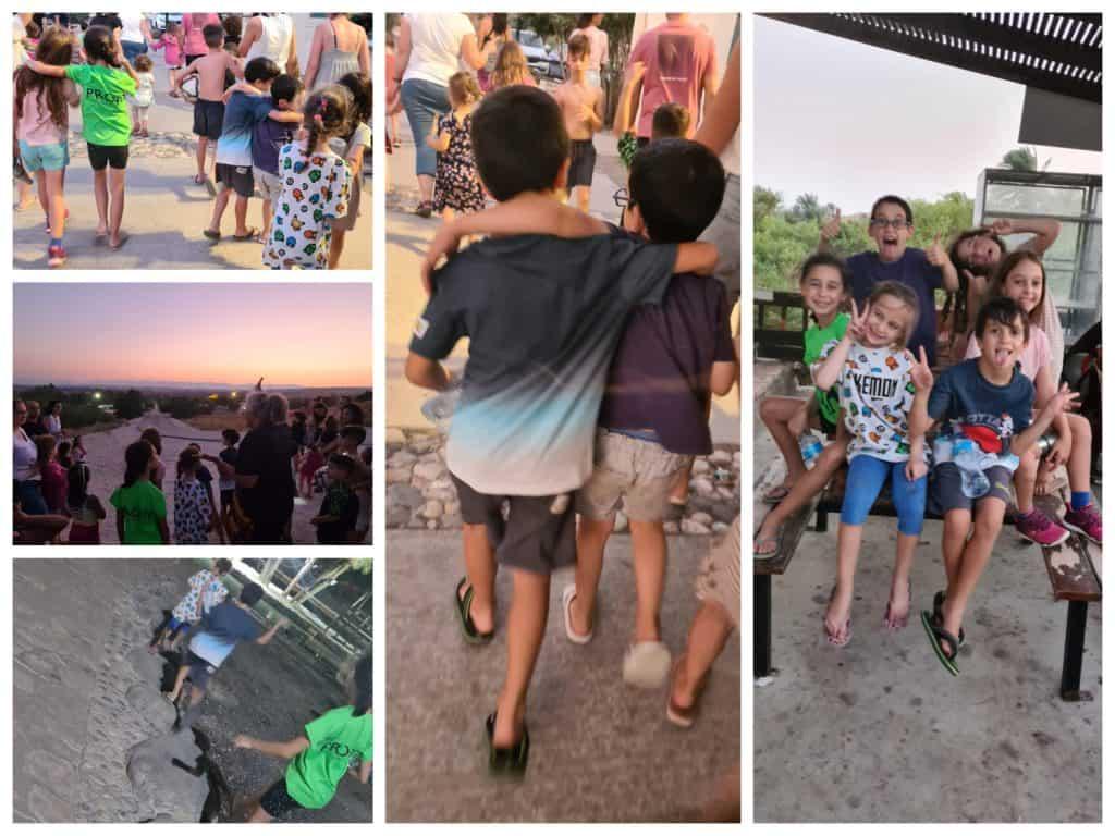 קמפינג בגני חוגה מתחם קמפינג למשפחות בצפון - מעיין היקמפינג בגני חוגה מתחם קמפינג למשפחות בצפון -סיור שקיעה