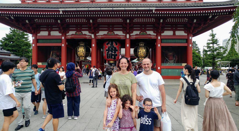 טוקיו למשפחות עם ילדים - מסלול, אטרקציות והמלצות