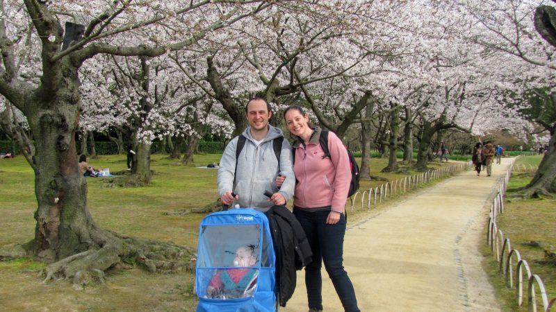 יפן עם תינוקת בפסח